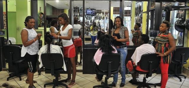hair dressing salon in Nigeria
