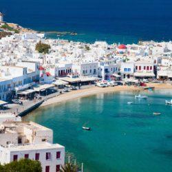 Greek island of Antikythera - an island in Greece