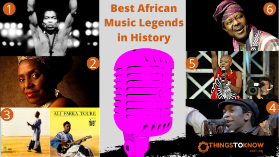 Best African Music Legends in History