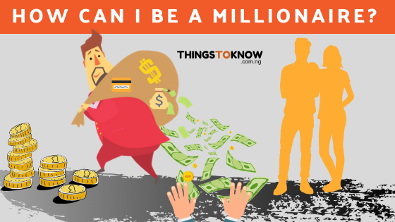 How to become a millionaire before the age of 30