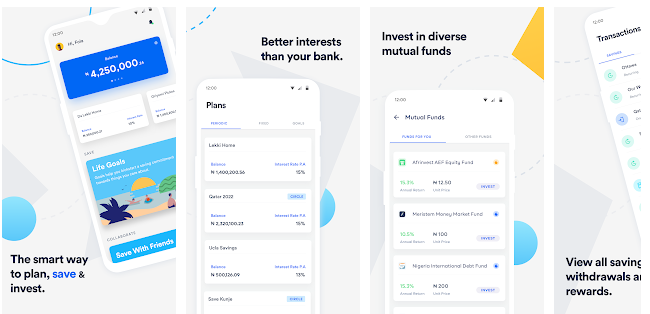 CowryWise - App to Manage your Money in Nigeria