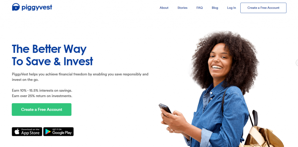 PeggyVest - App to Manage your Money in Nigeria