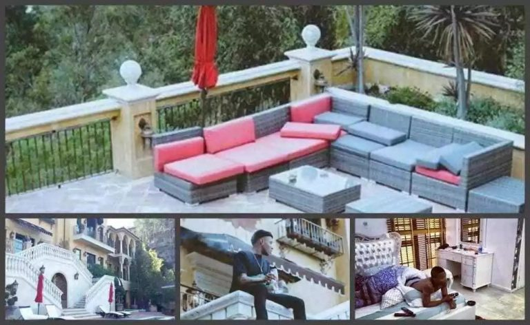 Wizkid's House and Cars