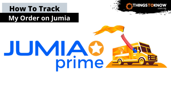 How to track my order on Jumia