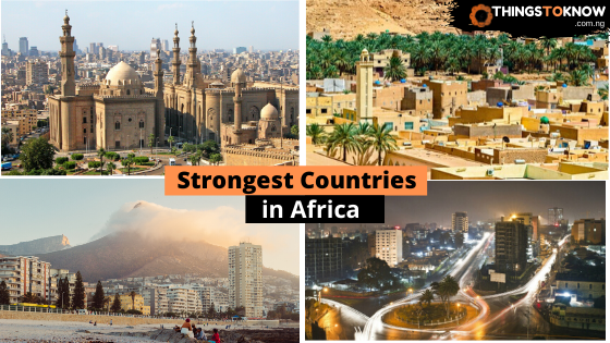 Strongest Country in Africa