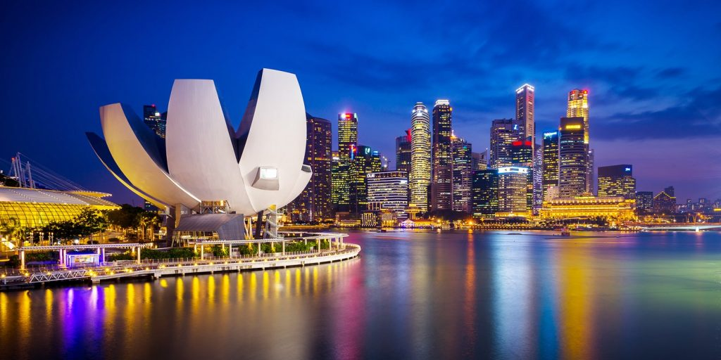 Singapore - fouth richest Countries in the world
