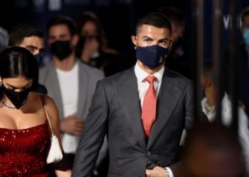 Cristiano Ronaldo at Award Night @ Dubai