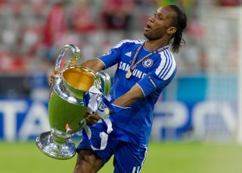 Drogba with Champions League