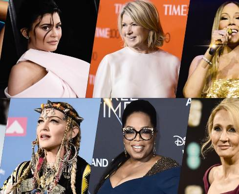 Top 10 Most Popular Women In The World