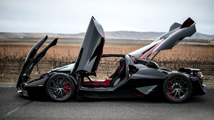 The 5 Fastest Cars in the World 2021