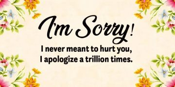 Apology Messages To Your Lover